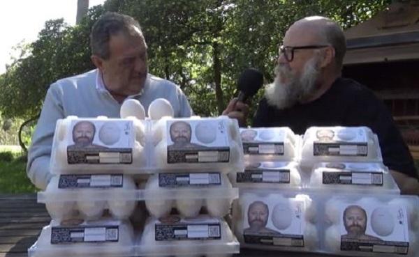 """Vissani consiglia il """"super uovo"""" Parisi, eccellenza del Made in Italy"""