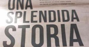 Leonardo Bonucci compra pagina della Gazzetta dello Sport per salutare tifosi Juventus