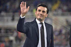 Milan - Borussia Dortmund della International Champions Cup, Vincenzo Montella nella foto d'archivio dell'Ansa