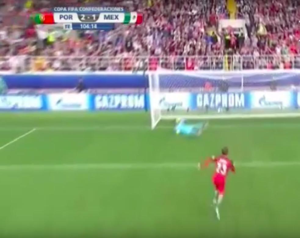 Portogallo-Messico 2-1 highlights. Portogallo terzo nella Confederations Cup