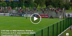 Inter-Wattens 2-1, Spalletti buona la prima: video con la partita