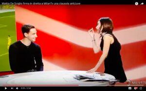 YouTube, Mattia De Sciglio: quando firmò la clausola anti Juventus