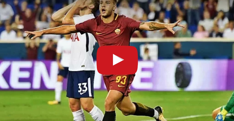 Tottenham-Roma 2-3 highlights International Champions Cup: Tumminello decisivo