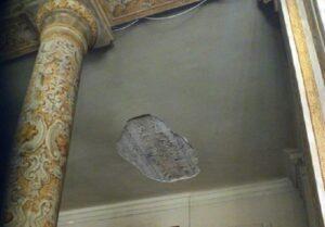 Duomo di Acireale: cade intonaco durante matrimonio, grave bimbo di un anno