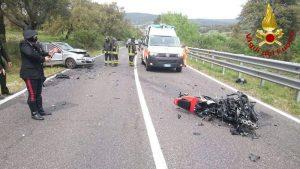 Vizzini, incidente tra auto e moto. Morti Damiano Gallo e bimbo di 7 anni