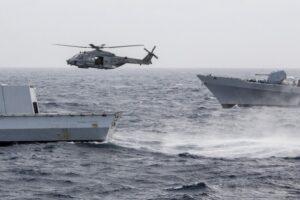 Libia: 5 navi, aerei, 700 militari, via libera del Governo alla missione italiana