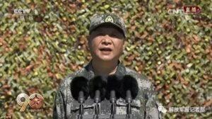 """Cina, presidente Xi Jinping: """"Il mondo non è al sicuro, serve un esercito forte"""""""