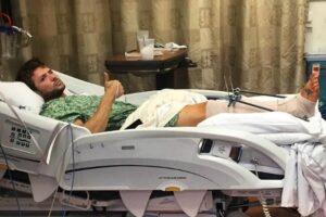 Ryan Phillippe, attore di Shooter in ospedale ferito a una gamba FOTO