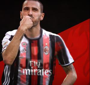 Leonardo Bonucci al Milan, ingaggio da 10 milioni e fascia da capitano
