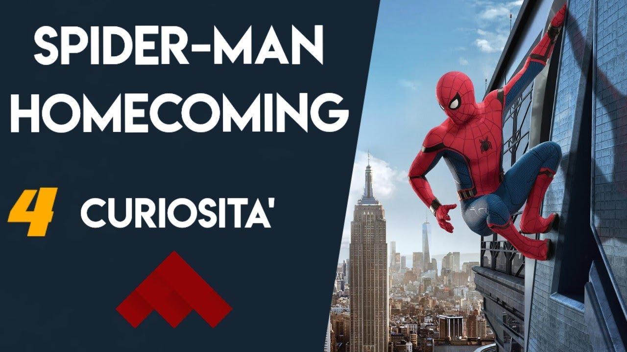 YOUTUBE Spider-Man Homecoming: 4 curiosità sul nuovo capitolo dell'uomo ragno