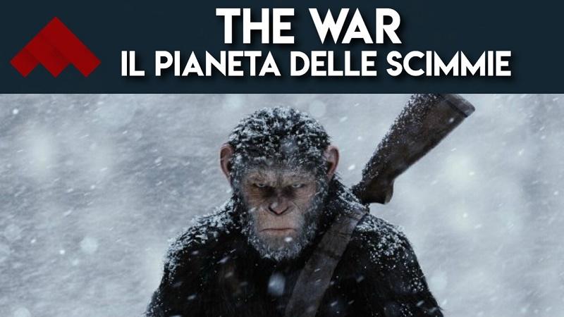 YOUTUBE The War - Il pianeta delle scimmie: video recensione del nuovo capitolo della saga