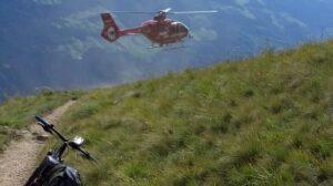 Moggio Udinese, giovane bloccato tra le montagne