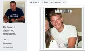 """Facebook, pagina contro Napoli: """"Aboliamo il piagnisteo napoletano"""""""