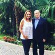 Berlusconi con Caroline Chenot