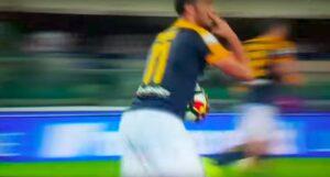 YouTube Giampaolo Pazzini contro Fabio Pecchia dopo il gol