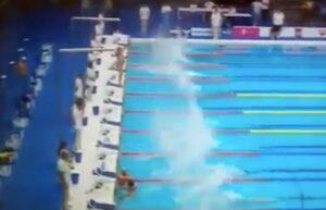 YOUTUBE Barcellona, ai Mondiali di Nuoto negano minuto di silenzio. Fernando Alvarez resta fermo ai blocchi 60''