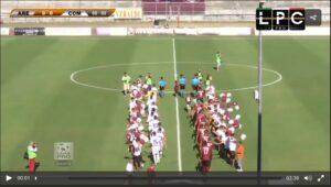 Arezzo-Arzachena Sportube: diretta live streaming, ecco come vedere la partita