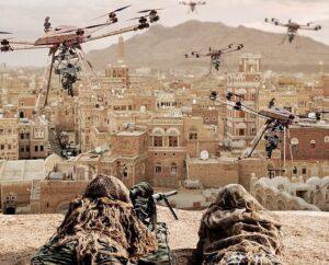 Drone da guerra: il Tikad può sparare con mitra e missili