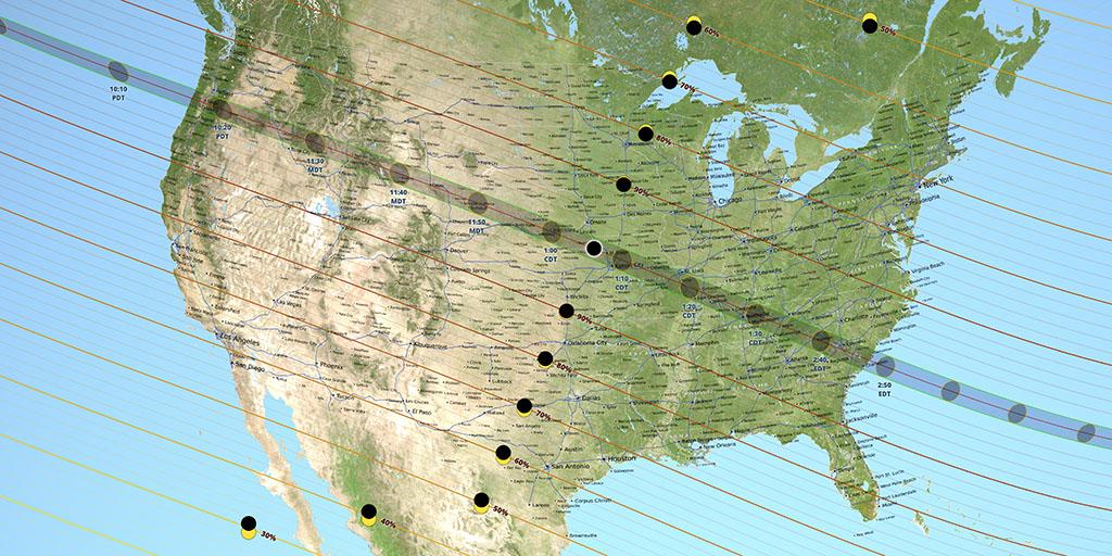 Eclissi totale di Sole 21 agosto 2017: ecco dove vederla in streaming