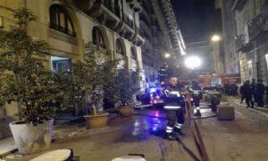 Cosenza, incendio in appartamento del centro storico: tre morti