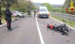 Luca Colangelo morto in incidente in moto a Ventimiglia