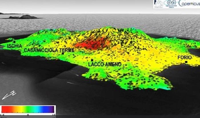 Terremoto Ischia: suolo abbassato di 4 centimetri vicino a Casamicciola terme