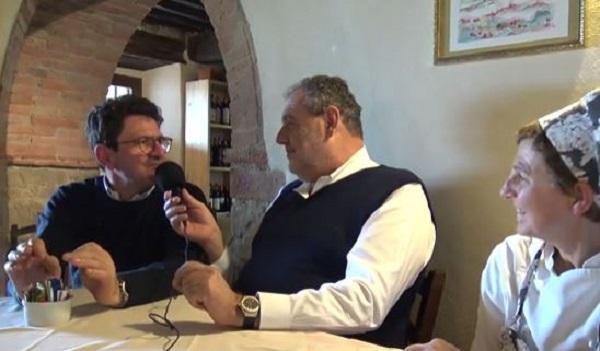 """Vissani consiglia la """"Locanda del Viandante"""" ad Anghiari (Arezzo) VIDEO"""