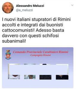 """Alessandro Meluzzi: """"Ecco le foto degli stupratori di Rimini"""". Ma è falso e Mentana..."""