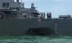 Singapore, nave da guerra Usa urta una nave cisterna: 10 marinai dispersi