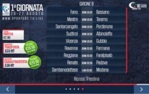 Ravenna-Fermana Sportube: diretta live streaming, ecco come vedere la partita