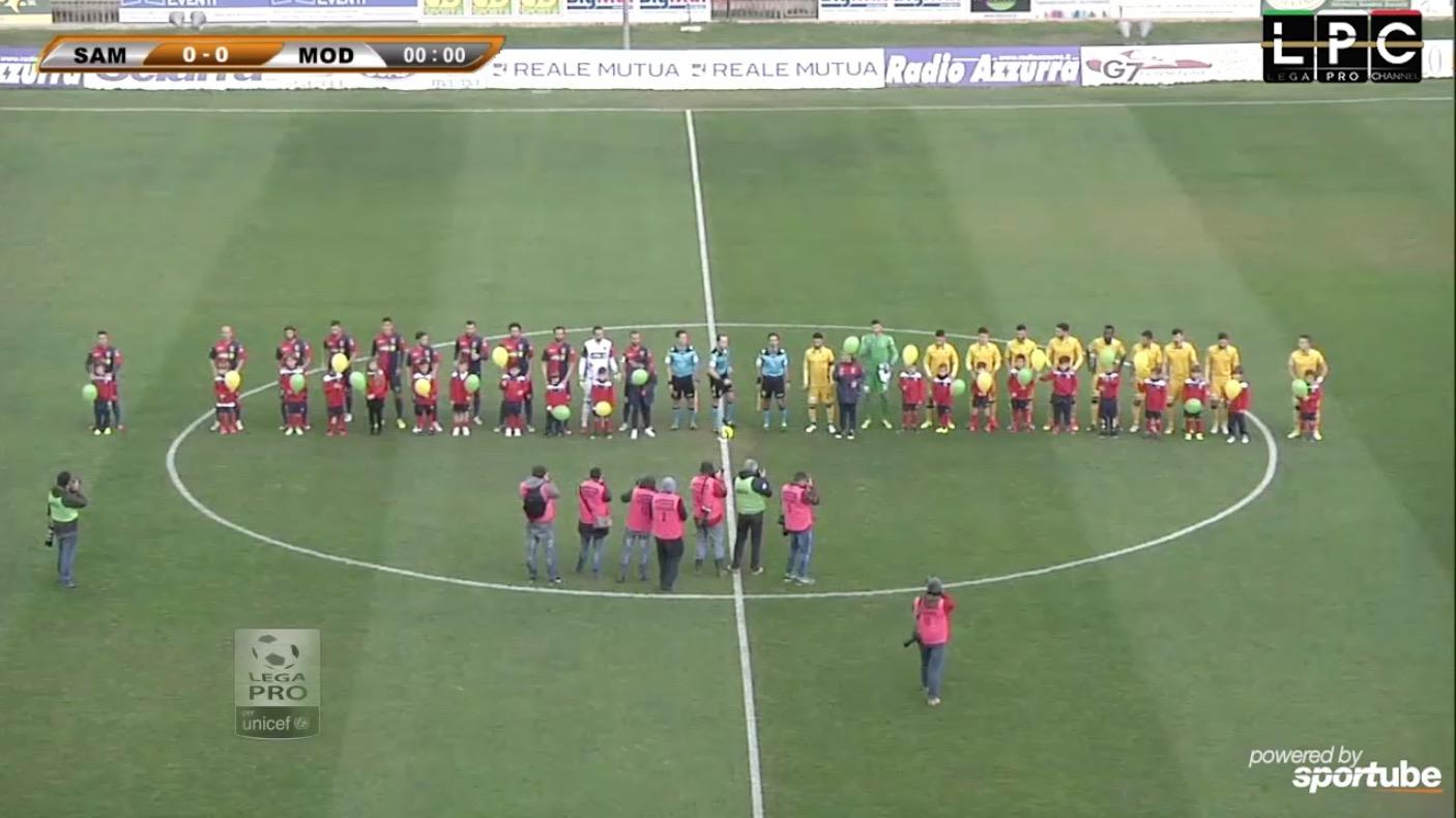 Sambenedettese-Modena Sportube: diretta live streaming, ecco come vedere la partita