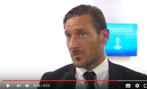 """Francesco Totti: """"Schick ha risposto. Non so cosa, era in inglese..."""""""