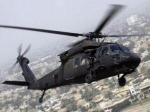 Yemen, elicottero Black Hawk precipita: un militare disperso