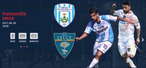 Virtus Francavilla-Lecce Sportube: diretta live streaming, ecco come vedere la partita