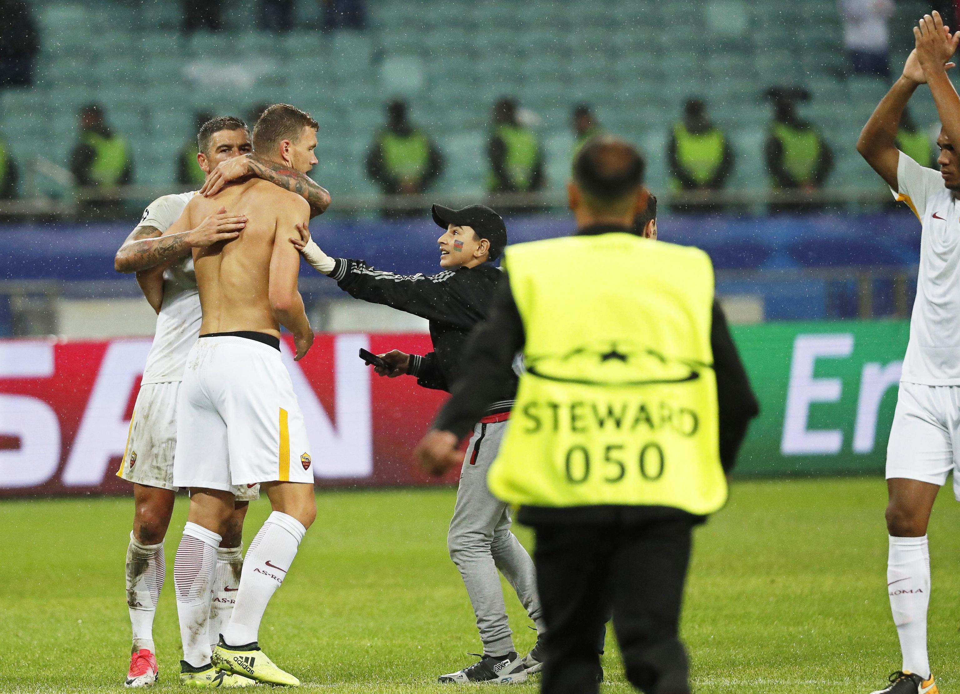 Champions, Qarabag-Roma 1-2: successo esterno dopo quasi sette anni