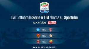 Serie A streaming, dal 1 ottobre tre partite su Sportube: come funziona, quanto costa
