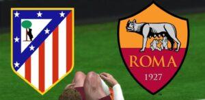 Roma Atletico Madrid diretta highlights pagelle formazioni ufficiali champions league live voti orario