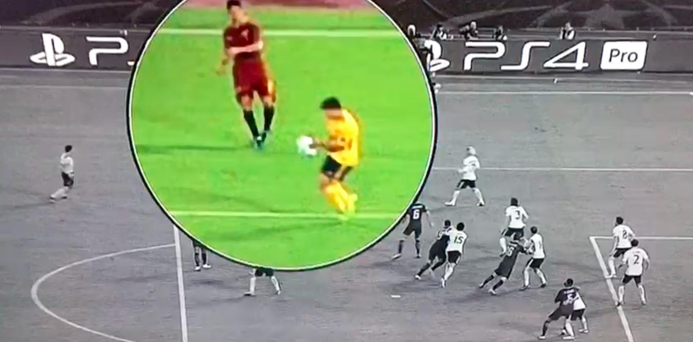 Roma-Atletico, rigore negato: Vietto mano su cross di Perotti (VIDEO)