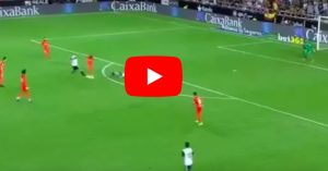 YouTube, Simone Zaza: il gol dell'hattrick in Valencia-Malaga