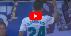 YouTube, Dani Ceballos salva il Real Madrid contro l'Alaves