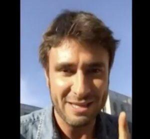 """YOUTUBE Alessandro Di Battista non va a Rimini: """"Sto per diventare papà"""""""
