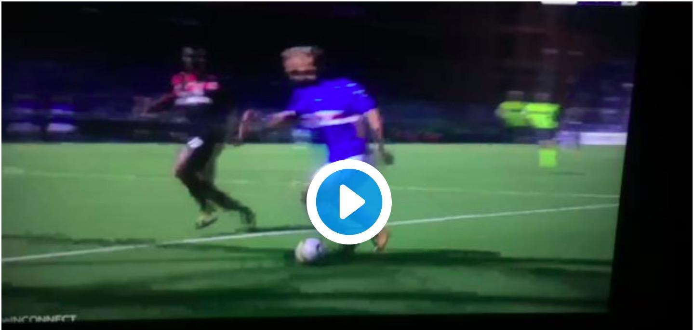 Video, Sampdoria-Milan: VAR toglie rigore alla Sampdoria