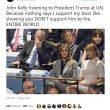 Trump parla all'Onu: lo sconforto del capo di gabinetto John Kelly