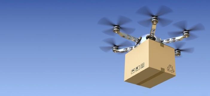 Amazon, spesa a casa in mezz'ora. Te la porta il drone o l'auto che si guida da sola