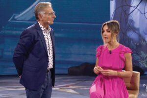 """Ambra Angiolini da Bonolis: """"Sì sono fidanzata"""". Con Massimiliano Allegri VIDEO"""