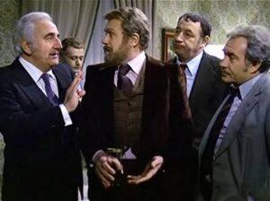 Con Gastone Moschin sono finiti gli Amici miei: Tognazzi, Noiret, Adolfo Celi...