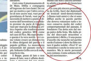 """Beppe Grillo e il commento sulla Sardegna: """"Belìn, c'è una puzza che neanche il Partito sardo d'azione"""""""