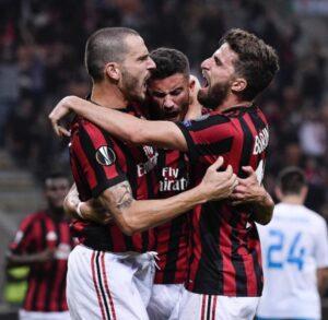 """Milan, Bonucci esulta su Instagram. Tifosi lo criticano: """"Devi svegliarti"""""""