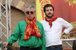 Lega Nord: Umberto Bossi ormai fuori, Salvini non lo fa parlare a Pontida