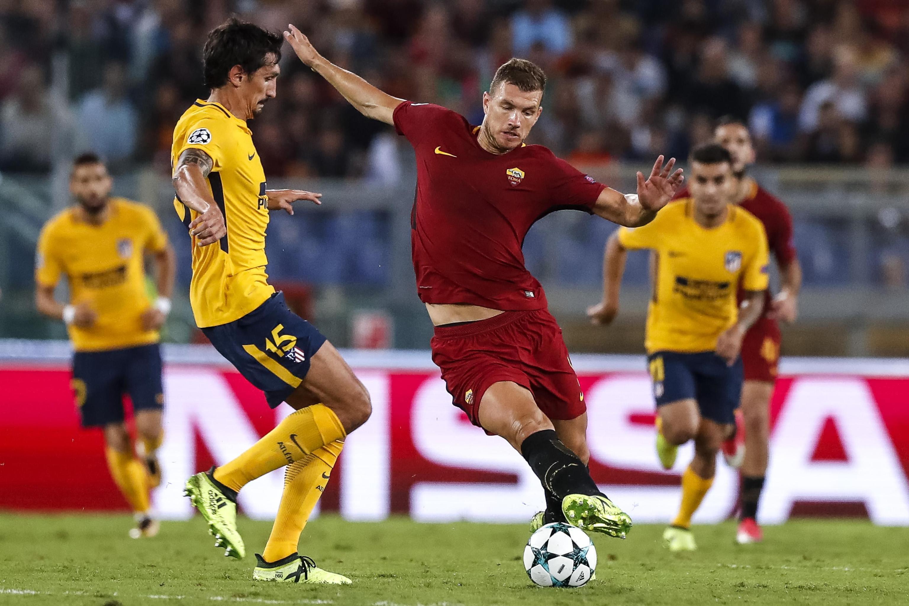 """Dzeko: """"Sento la mancanza di Totti ma anche di Salah..."""""""